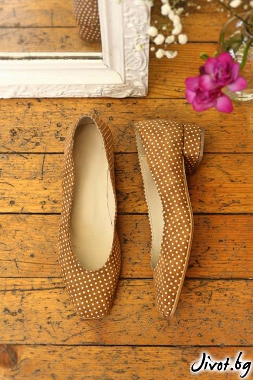 Дизайнерски обувки от естествен велур Arabella Nude / PESH ART