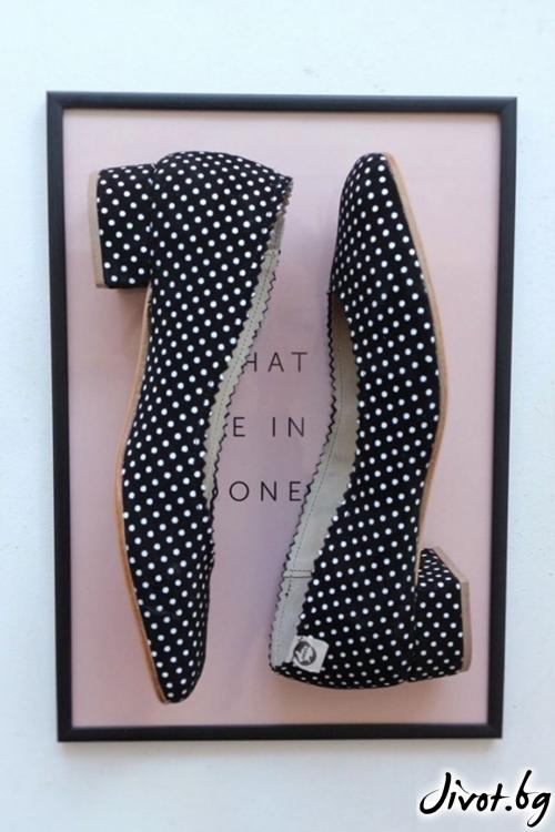 Дизайнерски обувки от естествен велур Arabella Pouarino / PESH ART