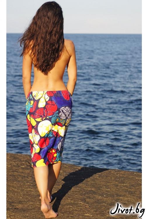 """Плажна рокля, парео и кърпа в едно """"Pattern"""""""