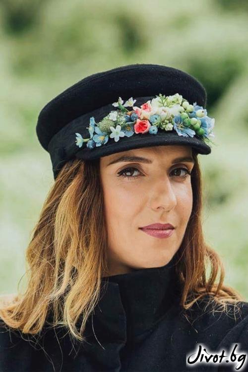 "Красива стилна шапка ""DREAMER"" / FloBow"
