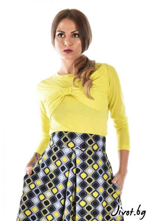 """Дамска блуза """"Панделка"""" / Mon Chou"""