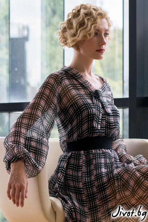 """Стилна блуза - """"Cary"""" / Модна къща АМБИЦИЯ"""