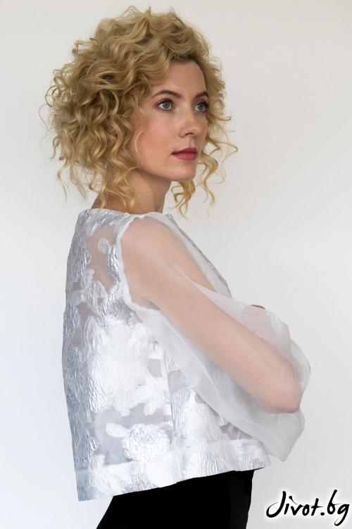 Блуза от органза и панталон / Модна къща АМБИЦИЯ