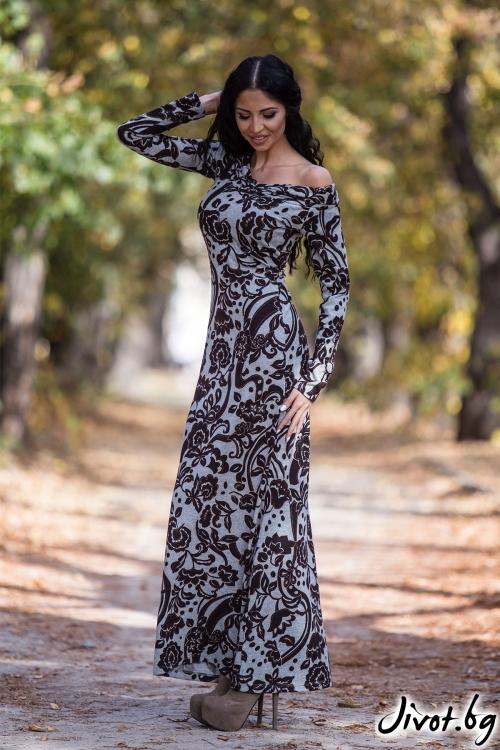 """Семпла рокля """"Флора"""" / Ashante"""