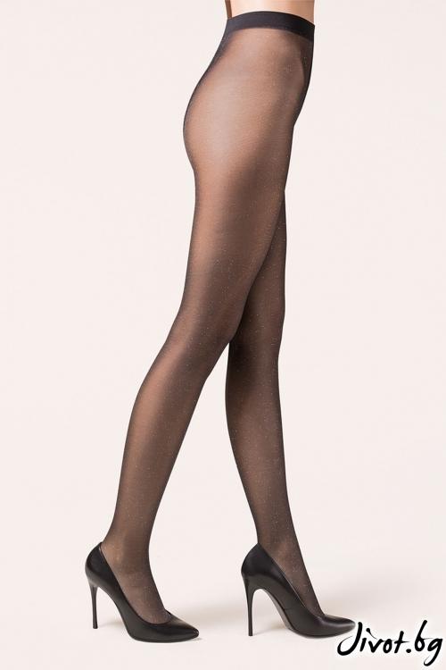 78316b7af61 Ефектни дамски фигурални чорапогащи. Иматации и на жартиери и чорапи ...