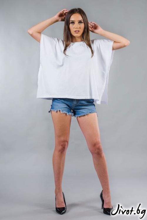 Дамска широка тениска BW155 / BAZA