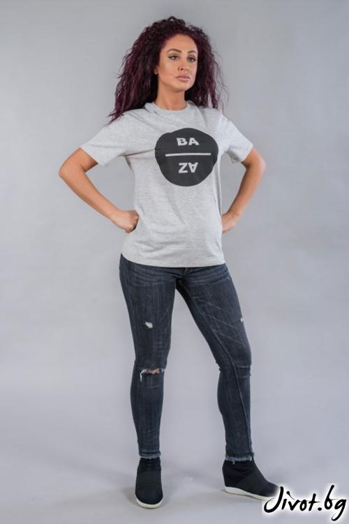Дамска тениска BW140 / BAZA