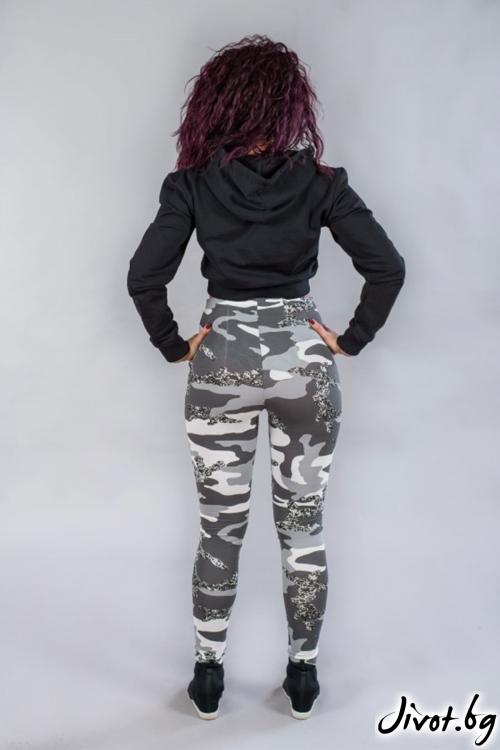 Дамски панталон, висока талия BW142 / BAZA