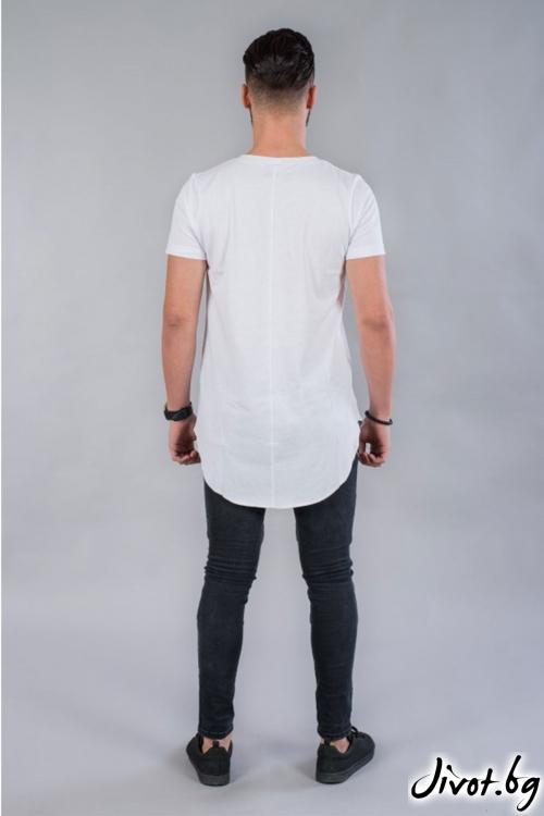 Мъжка дълга тениска BM529 / BAZA