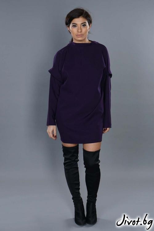 "Прелестна рокля ""The purple""/ EXPERIMENT"