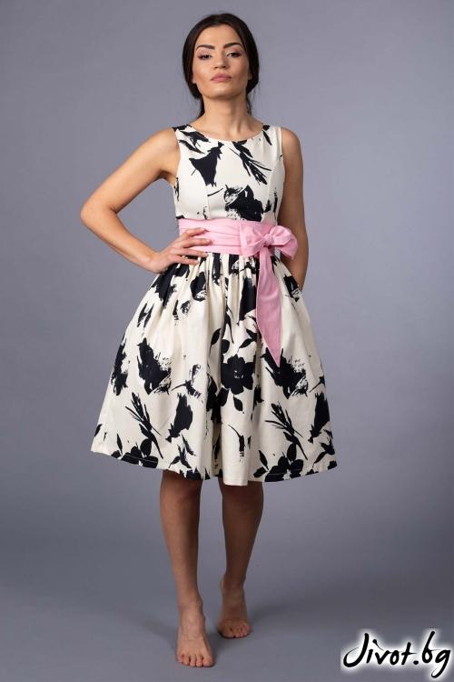 """Дамска рокля """"Lacy"""" / VERNE"""