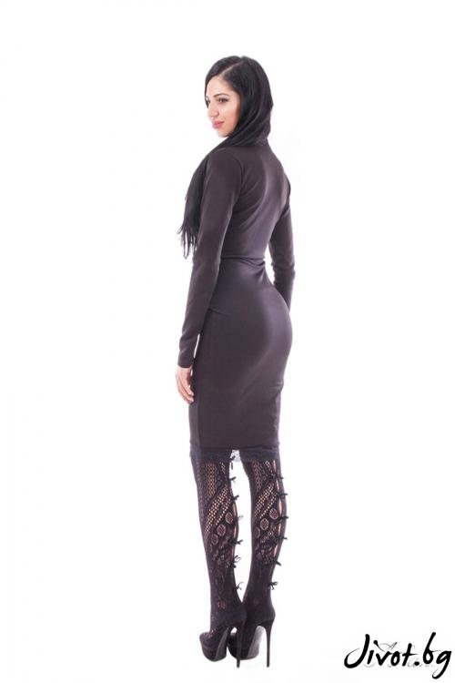 """Малка черна рокля """"BLACK""""/Ashante"""