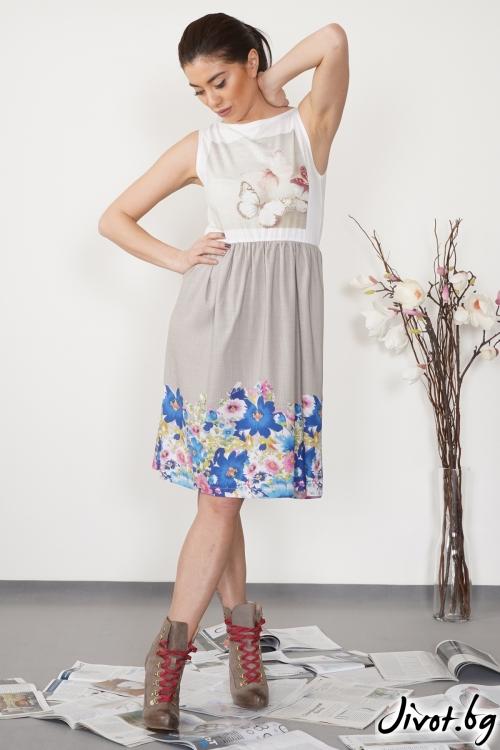 "Дамска рокля ""Sweet Butterfly""/ VЯRA за MUSE SHOP"