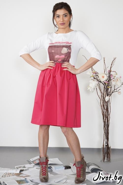 "Дамска рокля ""Sweet bear""/ VЯRA за MUSE SHOP"