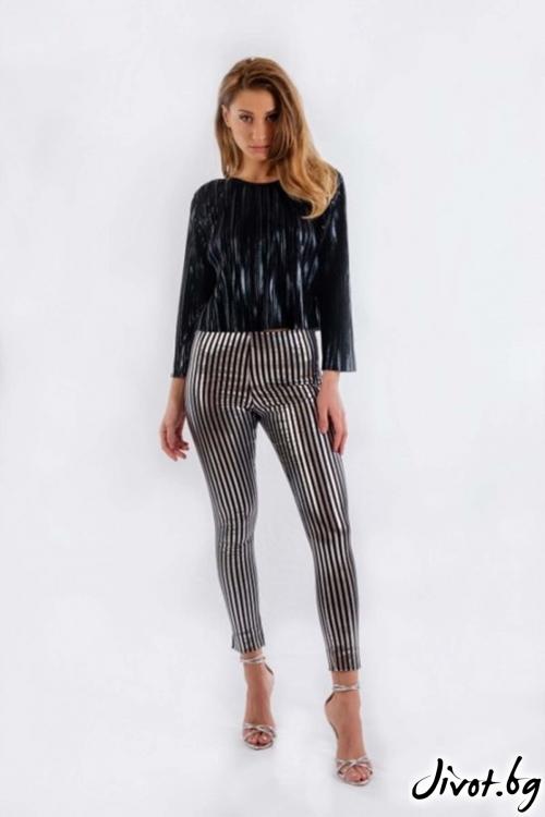 Дамски тесен панталон BW159 / BAZA