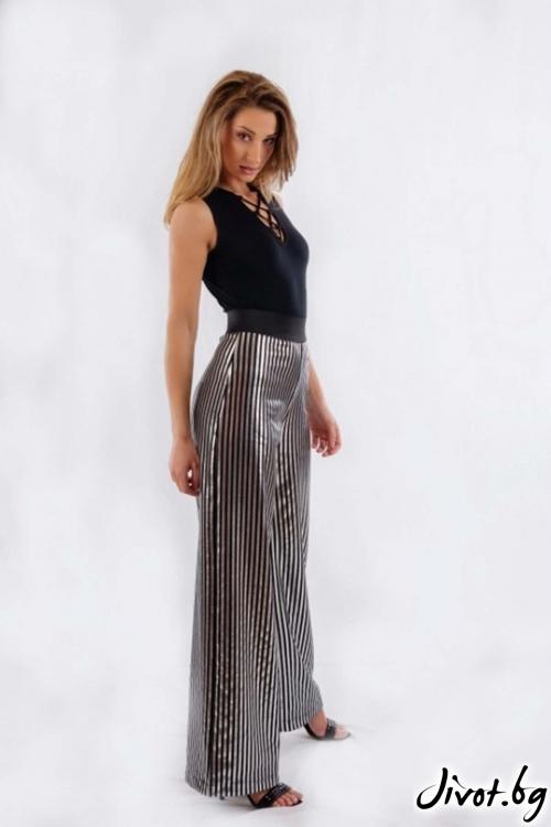 Дамски широк панталон BW160 / BAZA