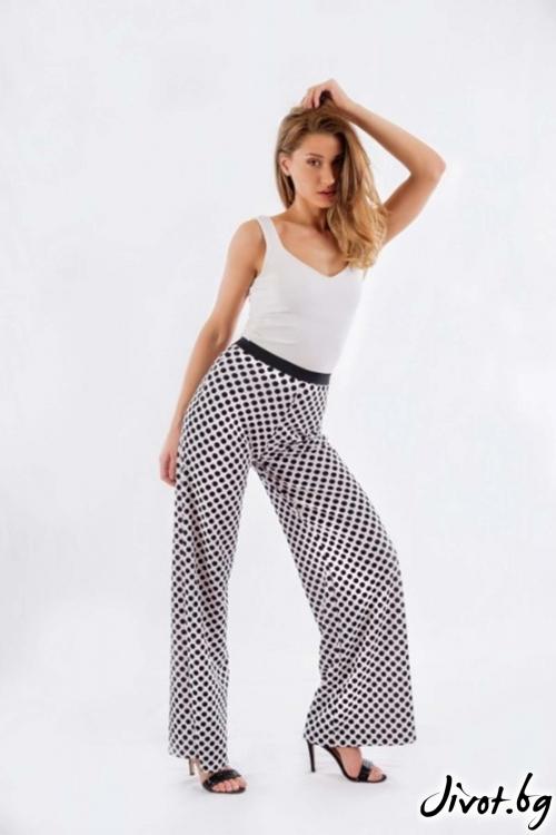 Дамски широк панталон BW161 / BAZA