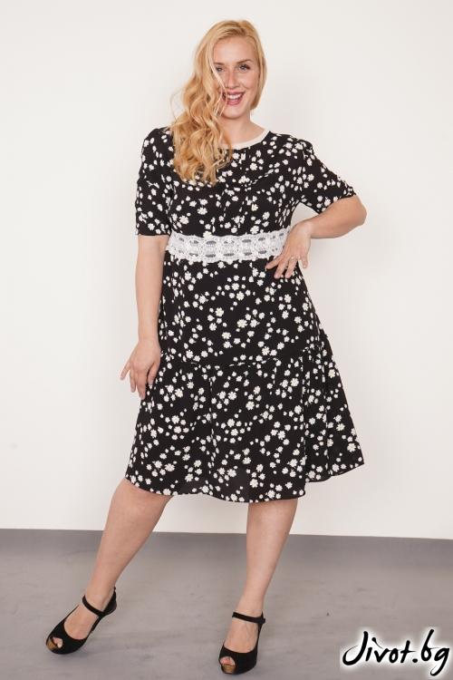 "Дамска рокля на цветя ""Daisy""/PIARET"