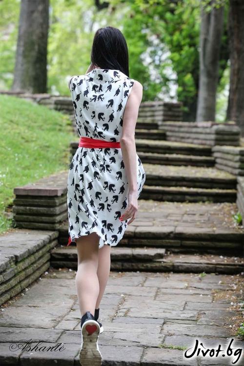 "Лятна рокля ""Пантери""/Ashante"