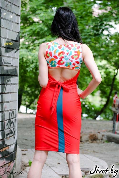 "Лятна рокля ""Пъстрота""/Ashante"