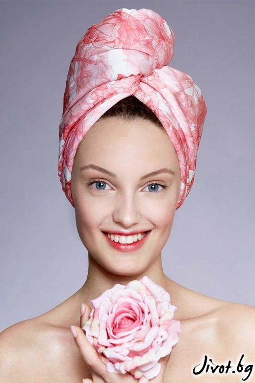 """Кърпа за коса """"ALMA"""" / AGLIQUE"""