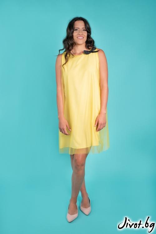 """Нежна рокля """"Нашира""""/Shushi"""